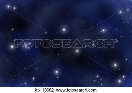 Clip Art of Starfield k5113662.