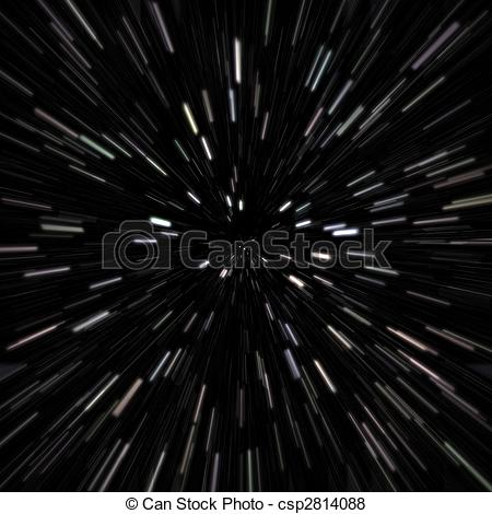 Stock Illustration of Outer Space Star Field.