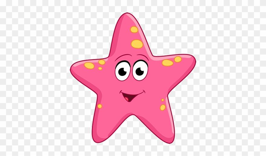 starfish cartoon clipart #6