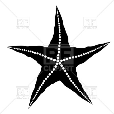 15 Starfish Silhouette Vector Free Images.