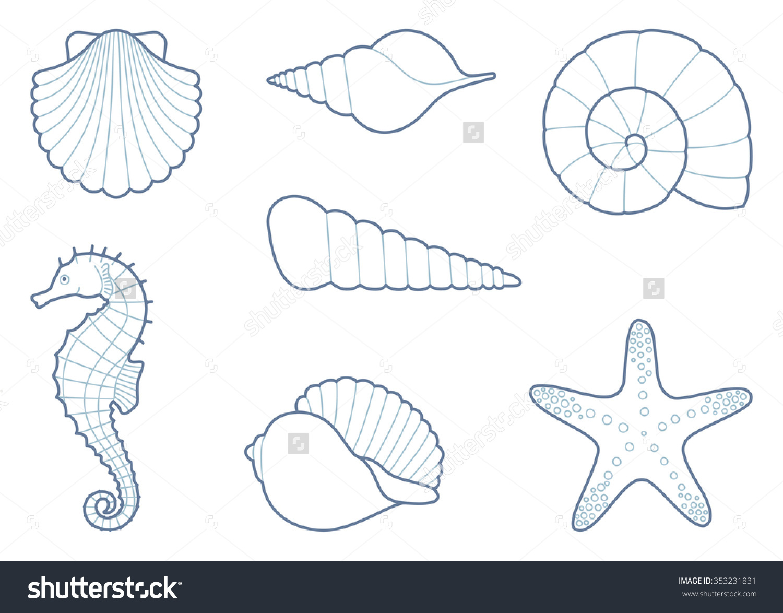 starfish outline clipart clipground Starfish Outline Drawing Starfish Outline Drawing