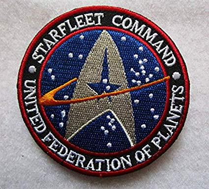 Amazon.com: Star Trek Original Series Starfleet Command Logo.