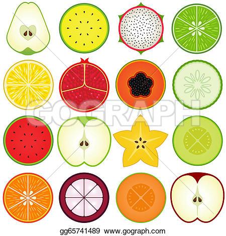Starfruit Clip Art.