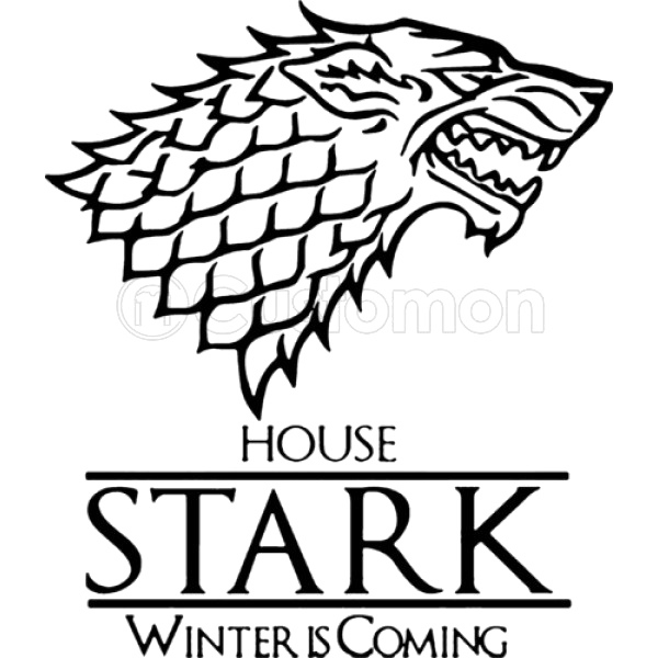 Download Thrones House Stark Game Black Of HQ PNG Image.