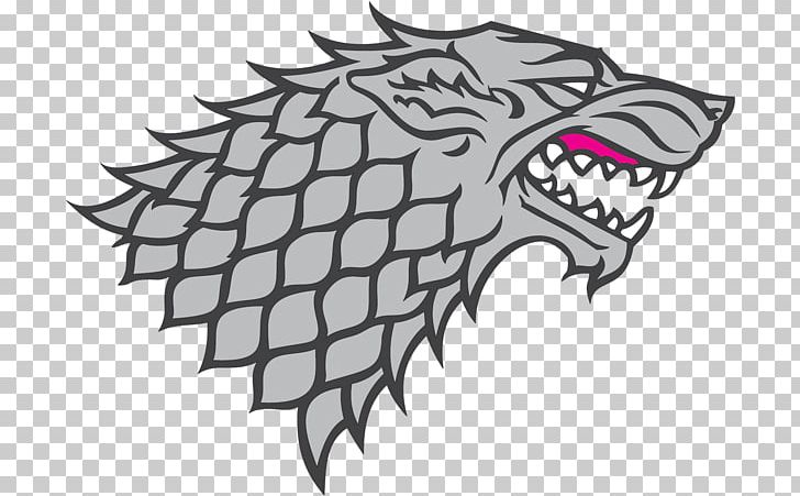 House Stark Winter Is Coming Logo Daenerys Targaryen Sigil.