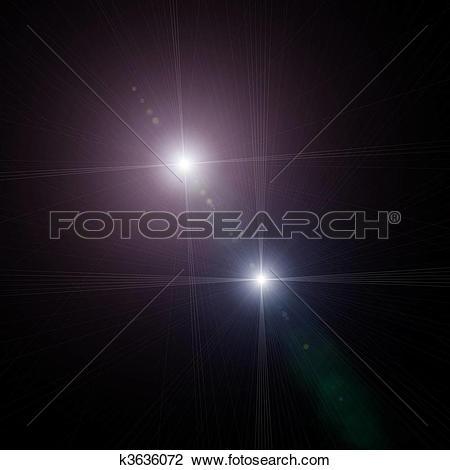 Clip Art of starlight k3636072.