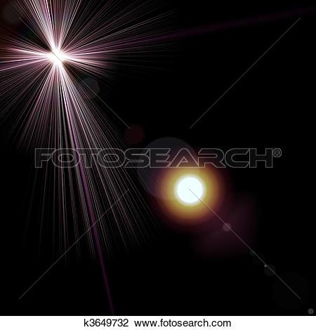 Clip Art of starlight k3649732.