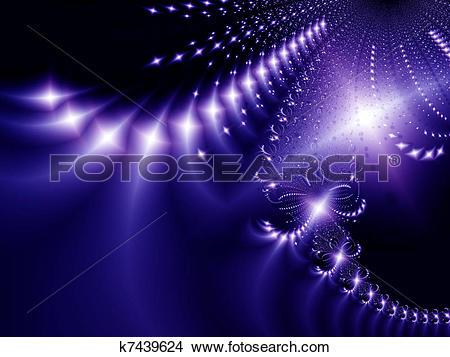 Stock Photo of Starlight night k7439624.