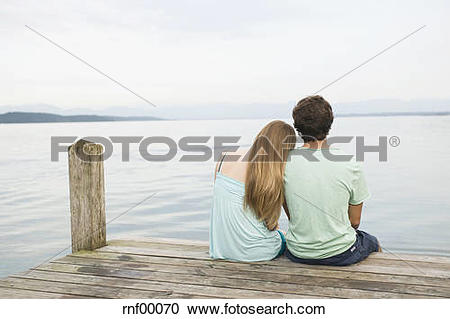 Stock Photography of Germany, Bavaria, Starnberger See, Young.