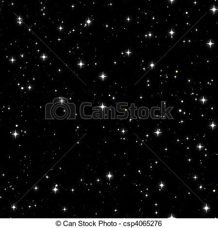 Starry Sky Clip Art.