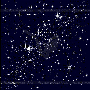 Starry Night Clipart.
