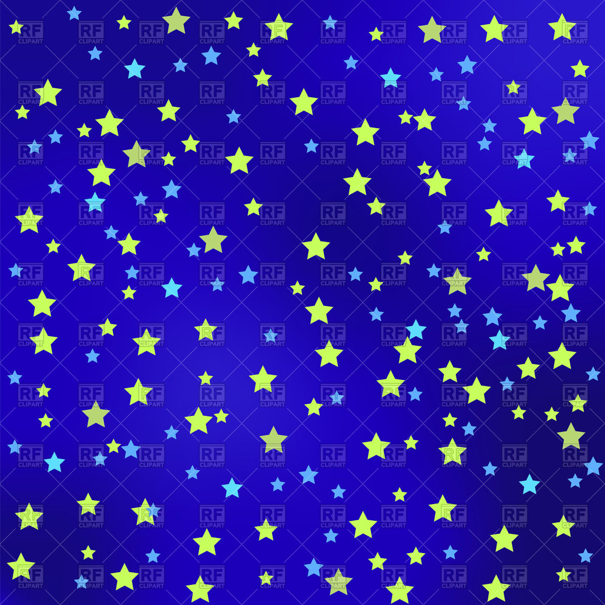 Free starry night clipart.