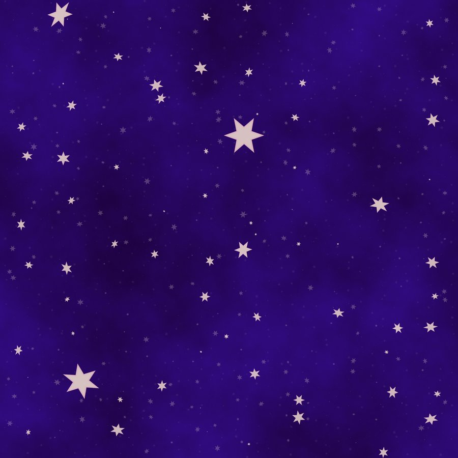 Starry sky clipart.