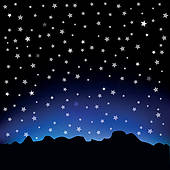 Starry sky clipart » Clipart Station.
