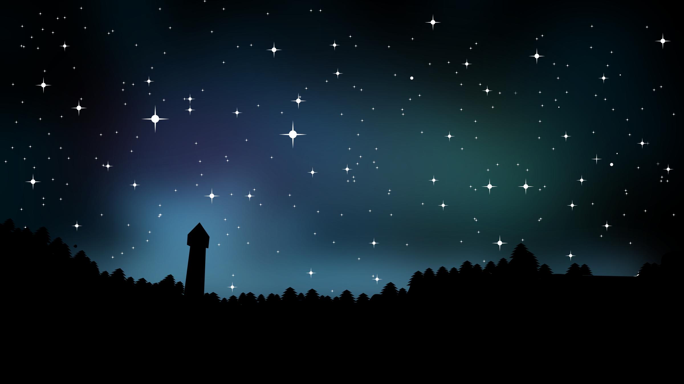 73+ Night Sky Clipart.