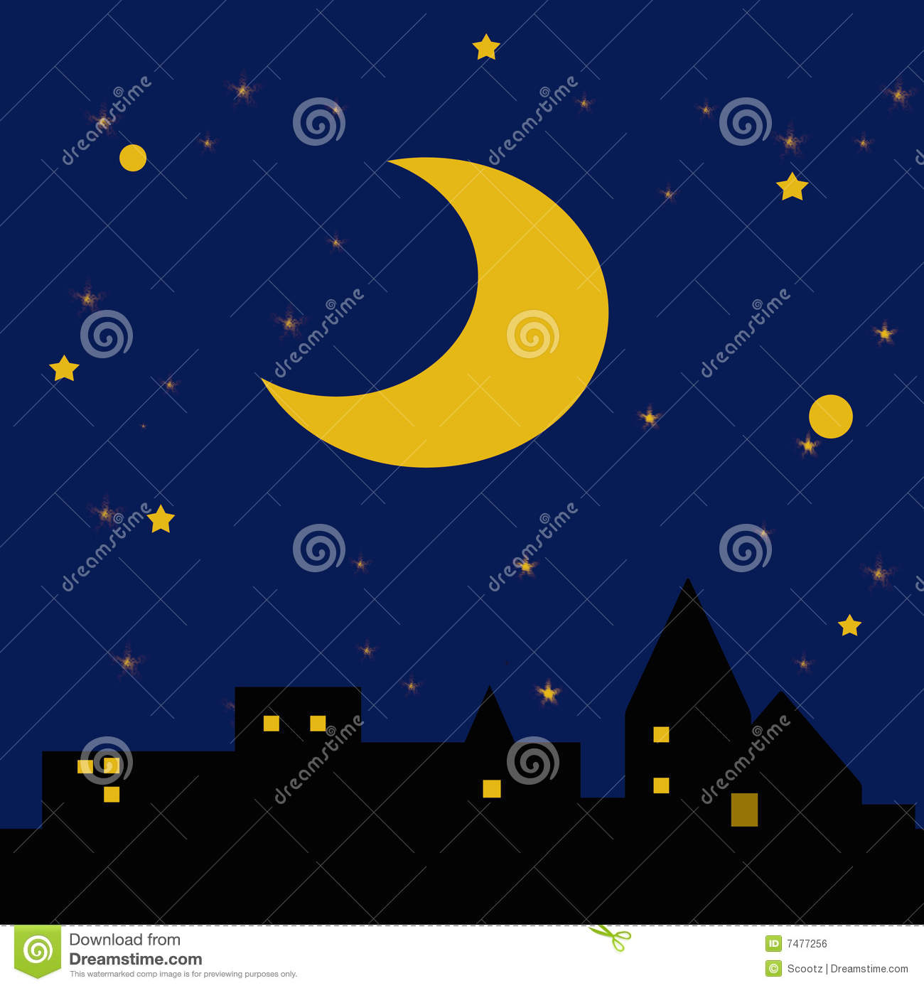 Starry Night Clipart (94+ images in Collection) Page 1.