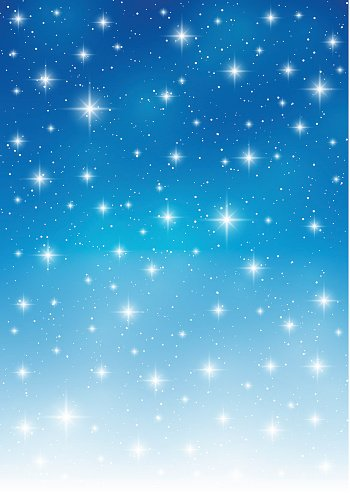 Starry sky background for Your design Clipart Image.
