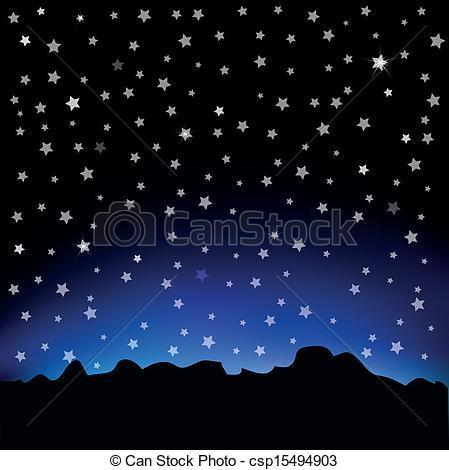 25+ Landscape Starry Sky Clip Art Pictures and Ideas on Pro.