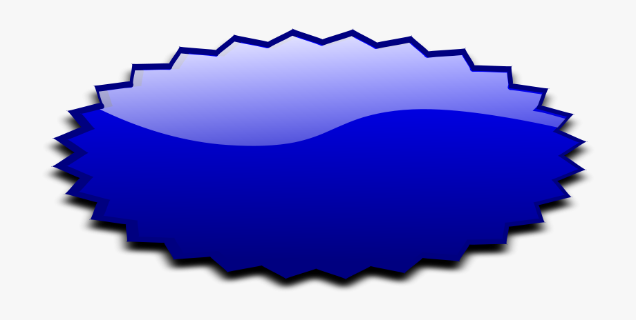 This Free Clipart Png Design Of Stars Blue Banner Clipart.