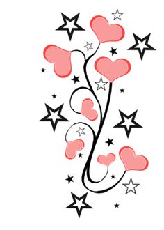 Hearts With Stars.