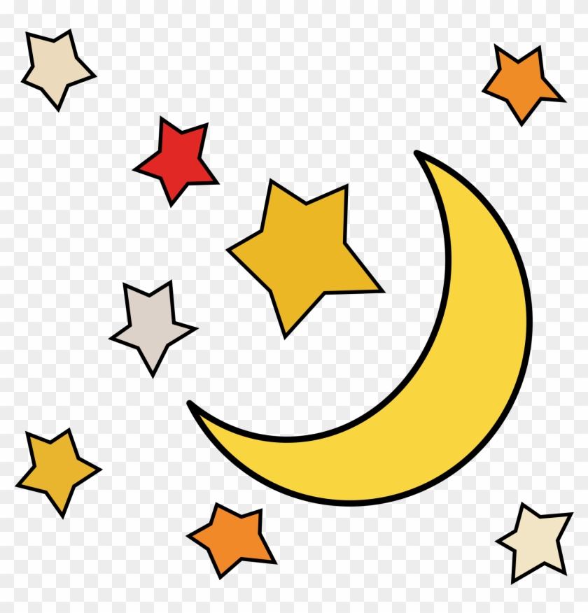 Sun Moon Stars Clipart At Getdrawings.