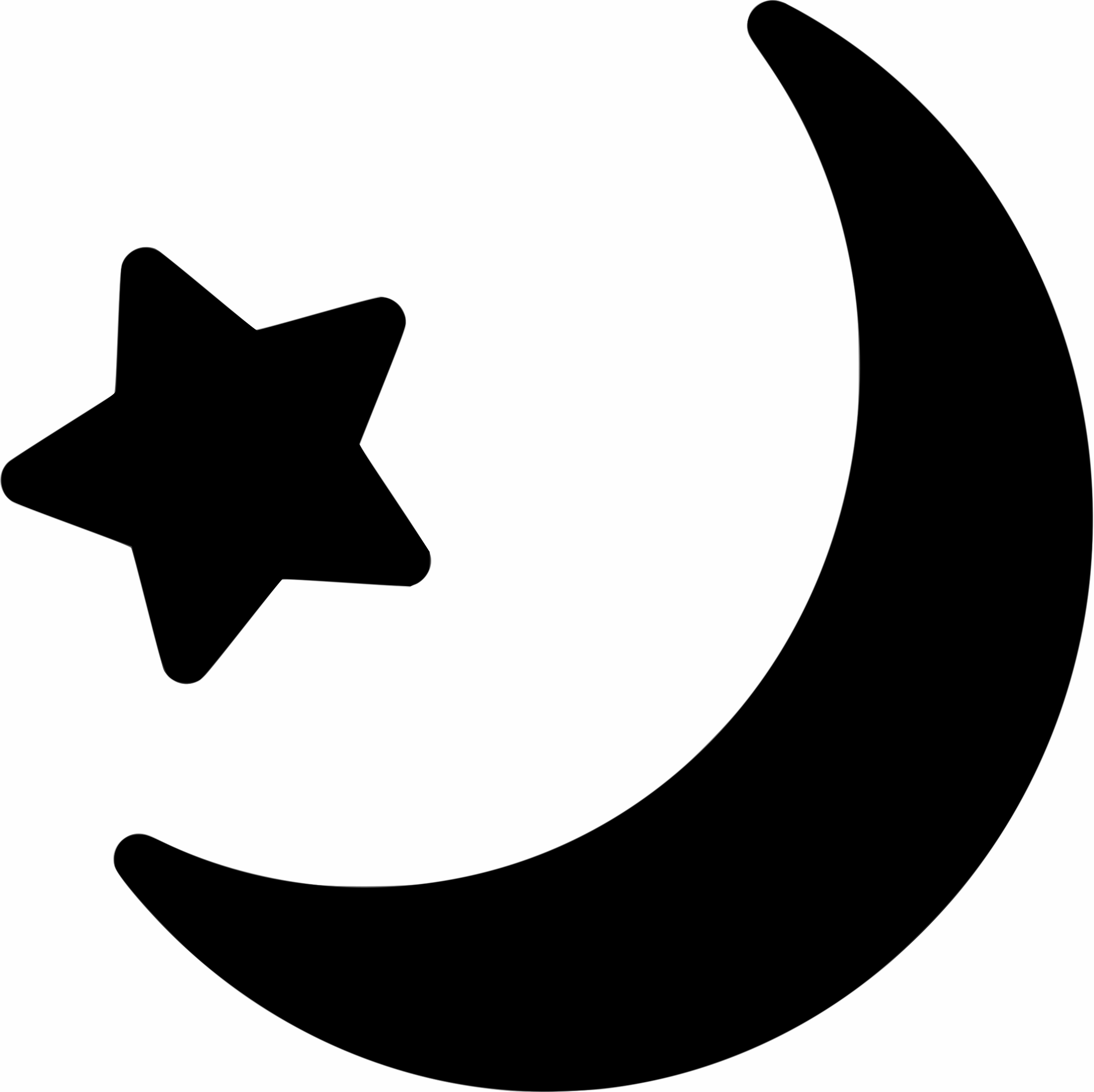 Black stars and moon clipart clipartfest.