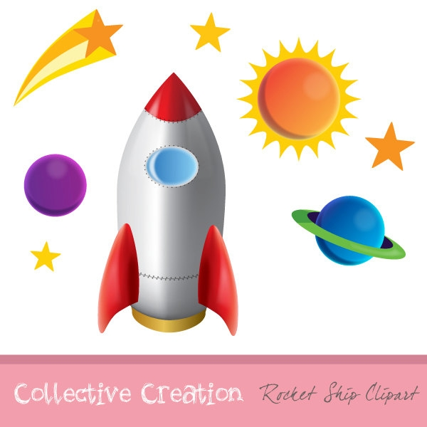 Stars And Planets Clipart.