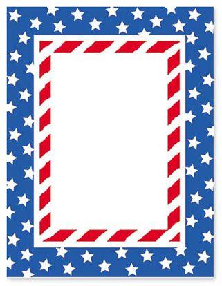 Patriotic Page Borders.