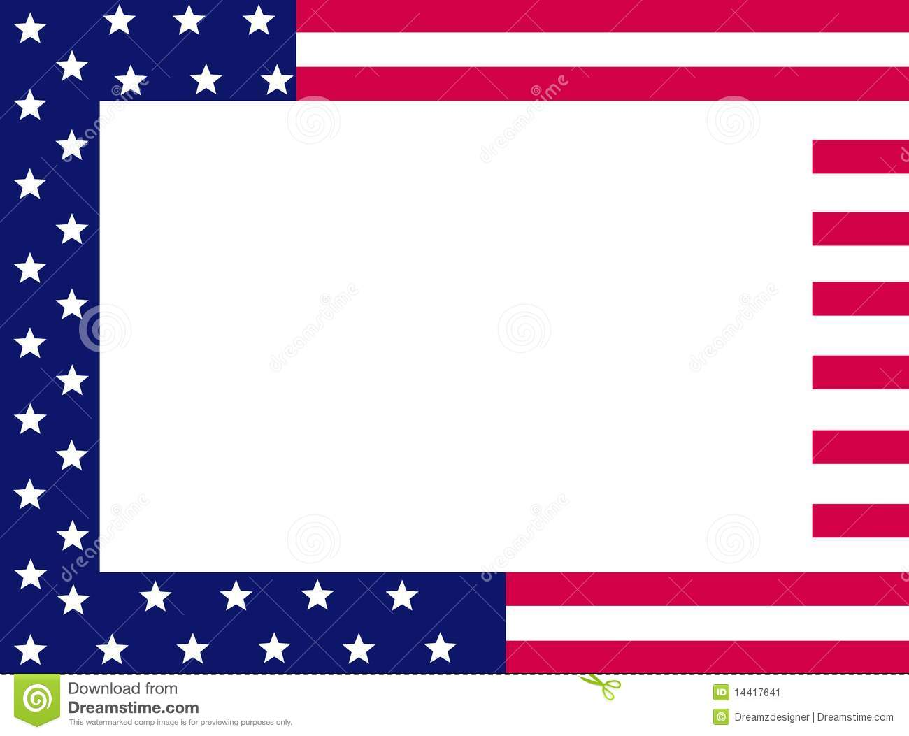 Free Stars And Stripes Clipart.