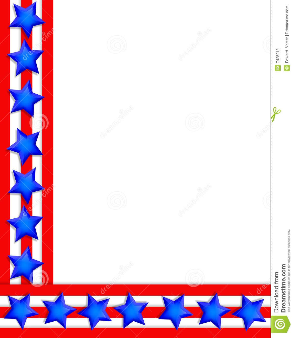 Free download Pin Stars And Stripes Border Clip Art.