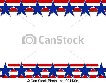 Stars and stripes clip art.