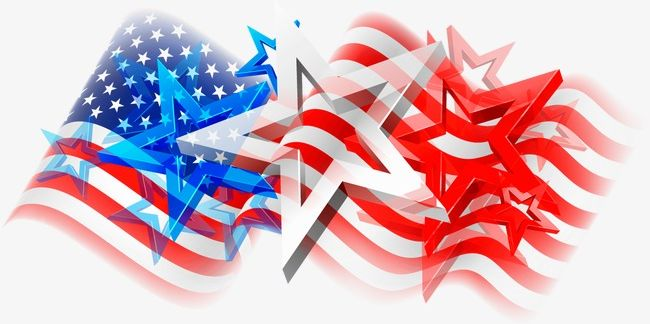 Stars And Stripes PNG, Clipart, Abstract, American, American.