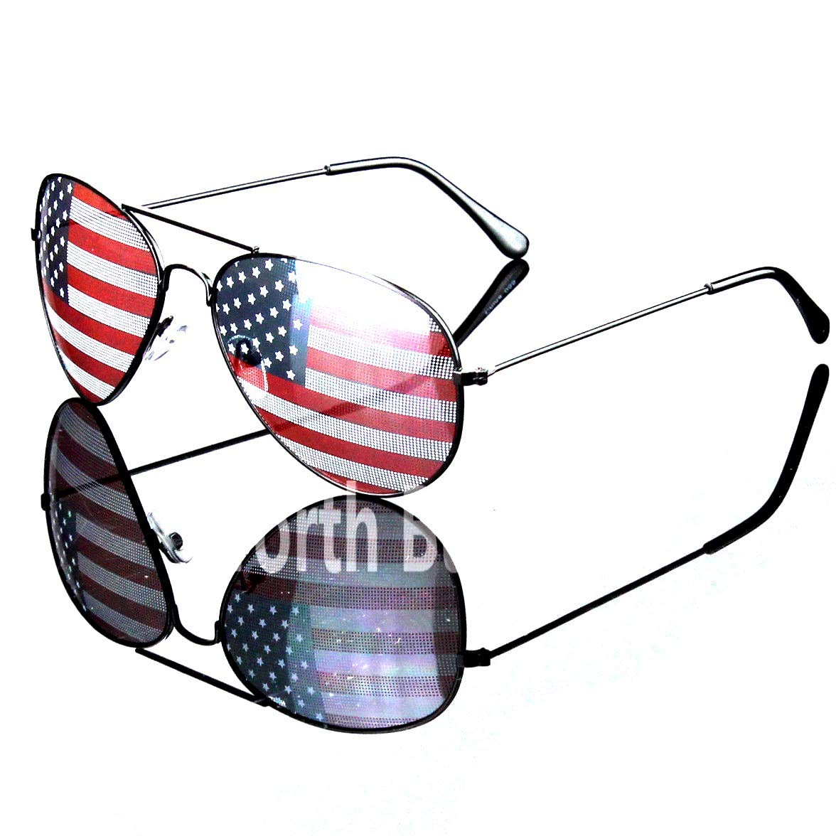 Amazon.com: Patriotic Sunglasses American Flag USA Lens Star.