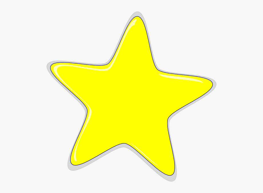 Yellow Star Clipart.