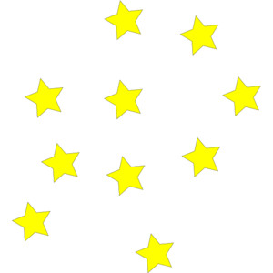 Stars clip art.