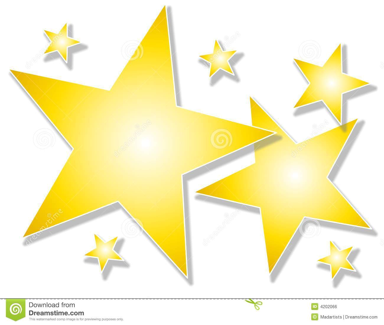 100+ Gold Star Clipart Free.