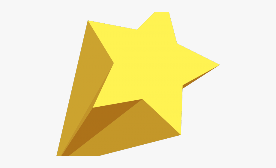 Falling Stars Clipart Logo.