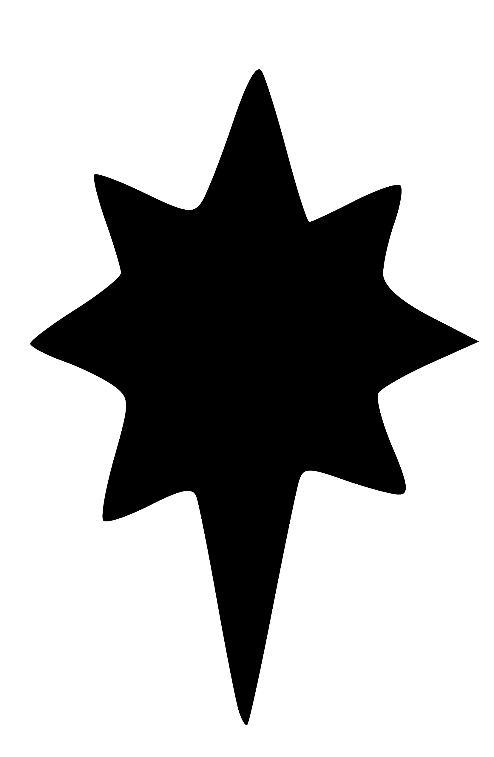 stars clipart silhouette