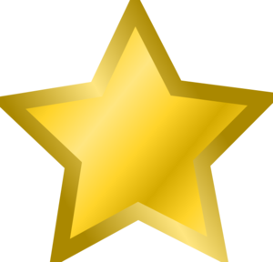 Yellow Star 3 Clip Art at Clker.com.