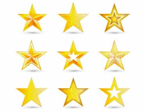 Stars Clip Art: 30 Sets of Free Vector Graphics.