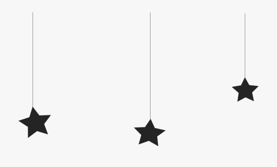 Black Stars Png.