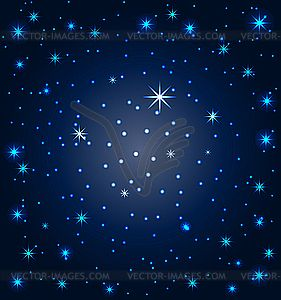 stars in the sky clipart #8