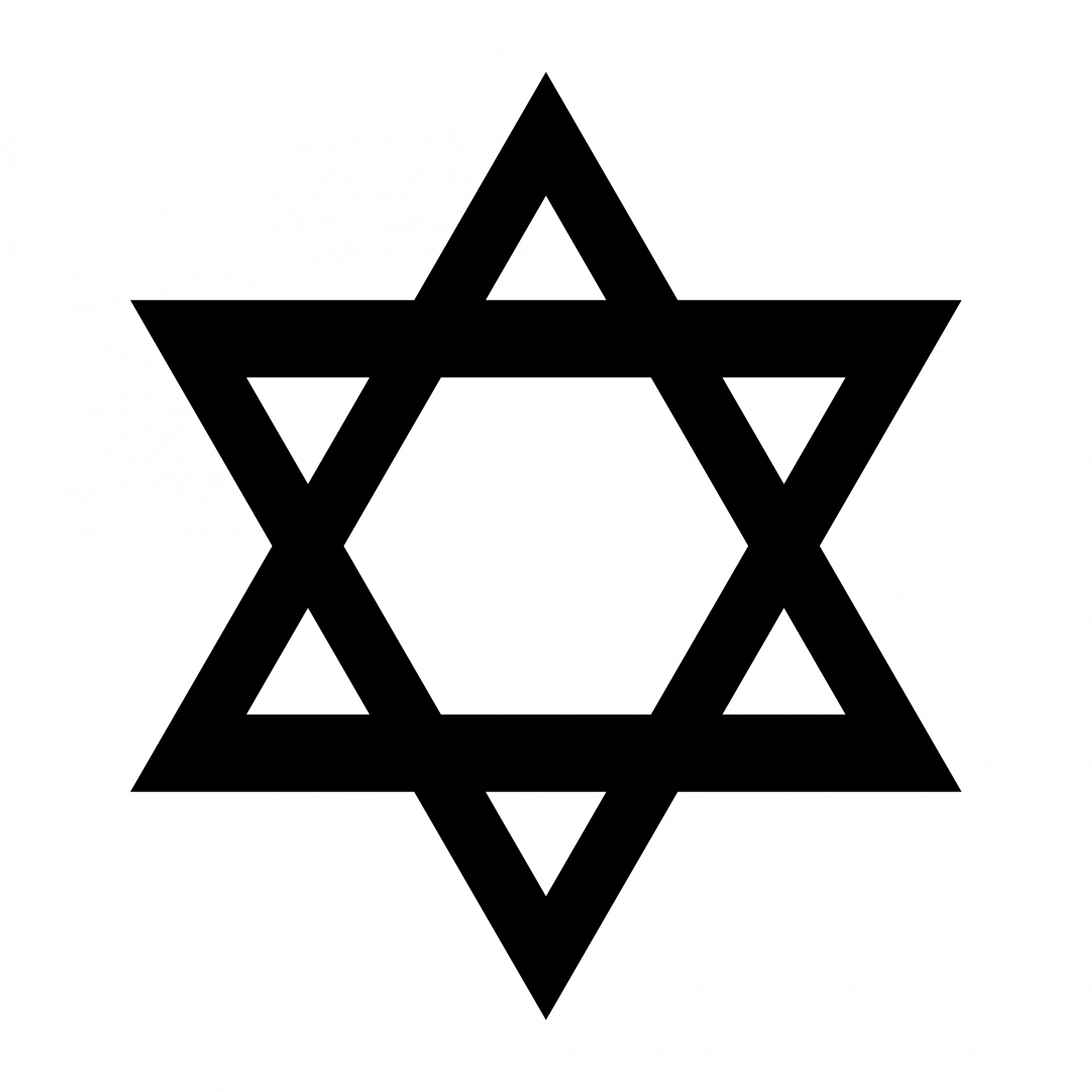 Star Of David Clipart Free Stock Photo.
