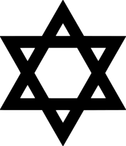 Star of David Clip Art.