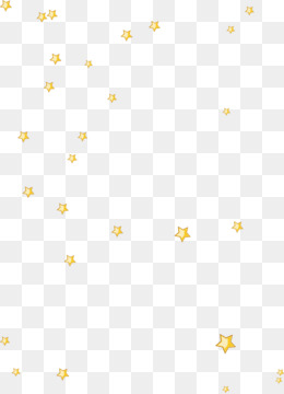 Free Download Yellow Floating Stars Png. #304419.