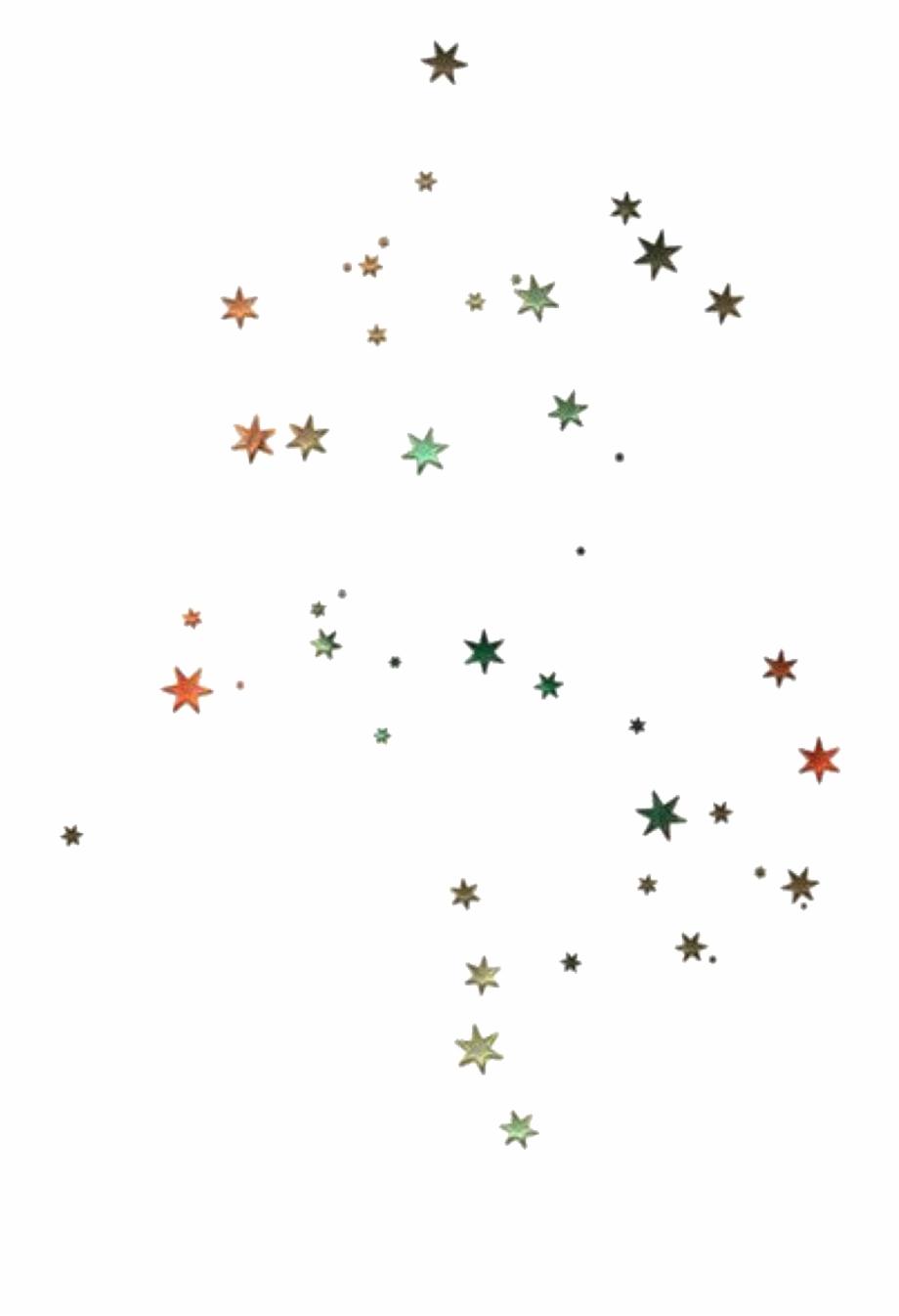 Sticker Stars Scatter Scattered Glitter Tumblr Aesthetic.