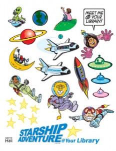Starship Adventure Summer Reading Kickoff.