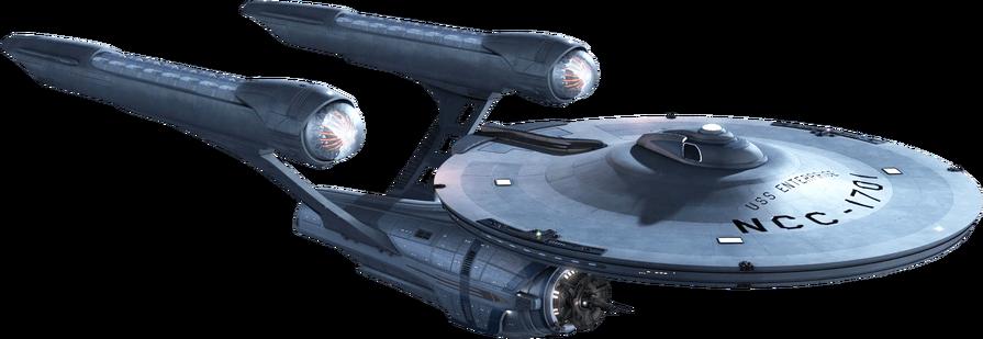 Starship Enterprise Star Trek transparent background image.