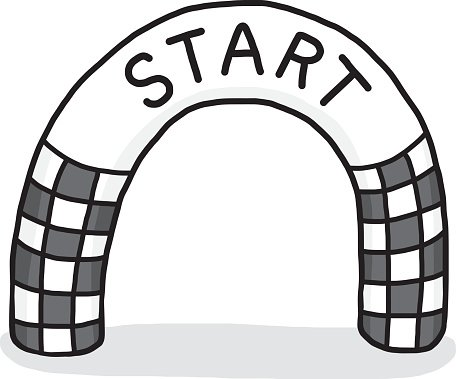 Start Line premium clipart.