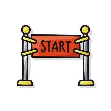 Start line clipart 4 » Clipart Portal.